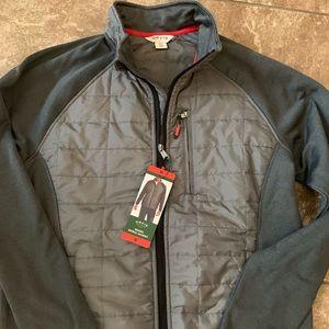 Orvis men's mixed media jacket new